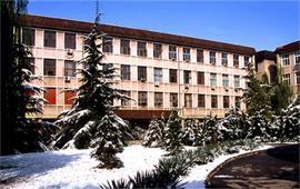 中国政法大学冬季景色