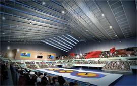 中国农业大学摔跤赛场